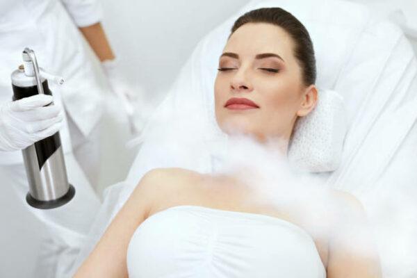 Séance de cryothérapie corps entier
