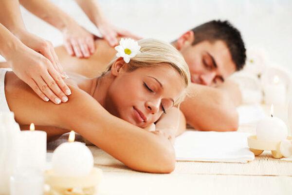 Massage en duo avec le soin signature
